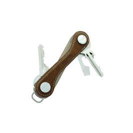 Keykeepa Leder Mocca