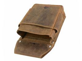 Greenburry Holster zu Kellnerbörse Leder Antik Braun