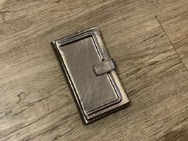 Gretchen Handybörse Leder Silber