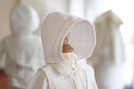 Bonnet baptême bébé garçon Oscar