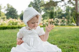 Bonnet baptême Alicia