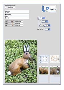 Italespanso Kaninchen