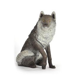 Franzbogen Sitzender Wolf