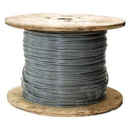 Stahldrahtseil PVC ummantelt