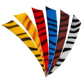 Feder RW Shield 4 Zoll zebra