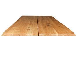 Tischplatte Eiche natur geölt