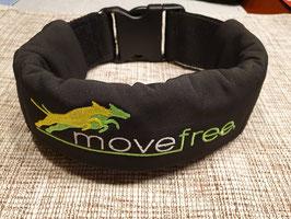 """movefree Gewichtshalsband """"Black Star"""" inkl. 5 x 200 gr Gewichte"""