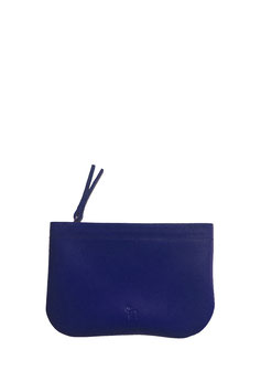 Zip coin purse 'A TUE TÊTE' single bleu roi