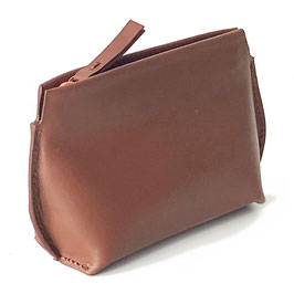 Zip coin purse 'L' ACROBATE' brown