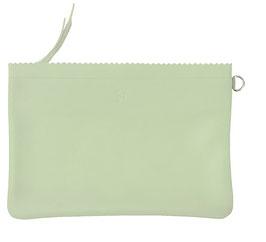 Zip pouch 'L' ADÉQUAT' vert d´eau