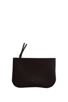 Zip coin purse 'A TUE TÊTE' single black