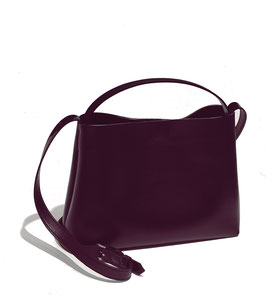 CROSS BODY BAG ' A PROPOS' VINE RED