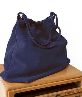 SHOPPING BAG 'A BIENTÔT' BLUE