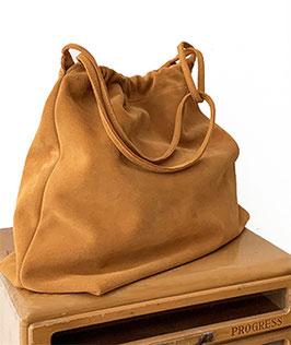 SHOPPING BAG  'A BIENTÔT' TAN