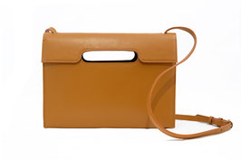 Cross body bag'A HUIT CLOS' tan