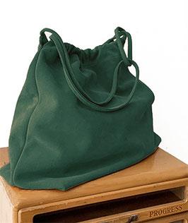 SHOPPING BAG  'A BIENTÔT' GREEN