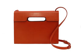 Cross body bag 'A HUIT CLOS' red