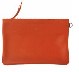 Zip pouch 'L' ADÉQUAT' red