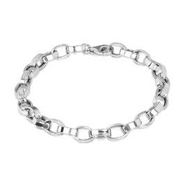 Sterling zilveren schakelarmband