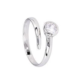 Sterling zilveren ring met zirkonia Rosie
