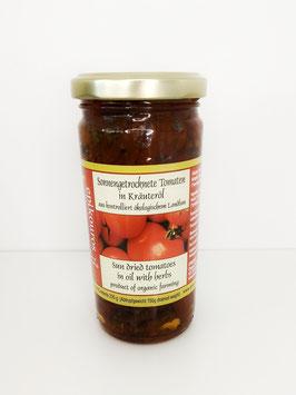 Sonnengetrocknete Tomaten in Kräuteröl 235g