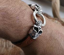 Armband Schädel