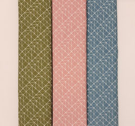 Baumwolljersey grafisches Muster