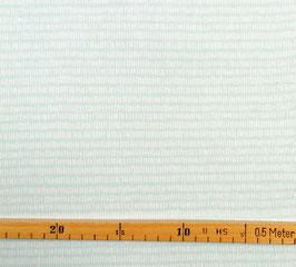 Interlock mint mit weißem Muster