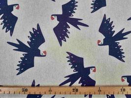 Canvas blaue Vögel