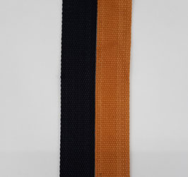Gurtband 40mm div. Farben