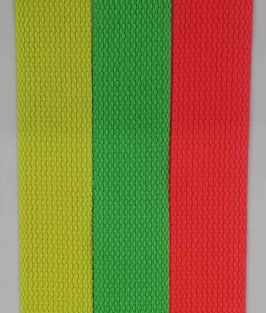 Gurtband neon 30mm div. Farben