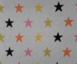 Strickjacquard Sterne