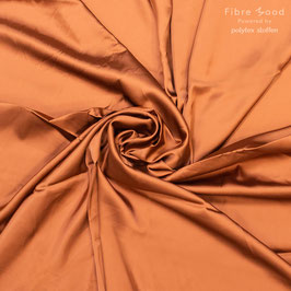 Viskosesatin elastisch orange  Fibre Mood