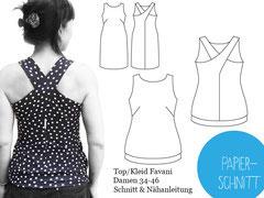 Top/ Kleid Favani Schnittbox
