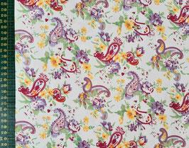 Baumwolldruck grafisches Muster
