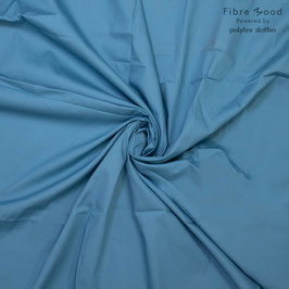 Popeline Adriatic Blue Fibre Mood