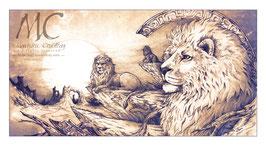 Tirage limité - Lion