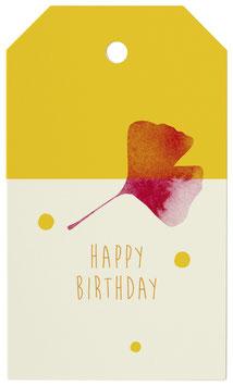 Geschenkanhänger Colorful Birthday