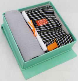 BABY WELCOME BOX - STREIF BLAU/GELB