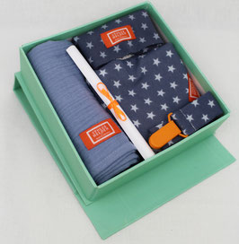 BABY WELCOME BOX - STERN JEANSBLAU