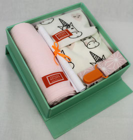 BABY WELCOME BOX - EINHORN ROSA