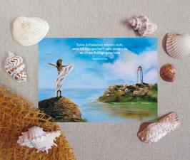 """Postkarte """"Zufriedenheit"""""""