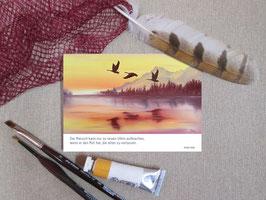 """Postkarte """"Neue Ufer"""""""