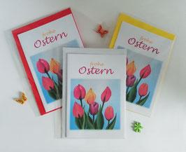 "Karten-Set ""Tulpen zu Ostern"" II"