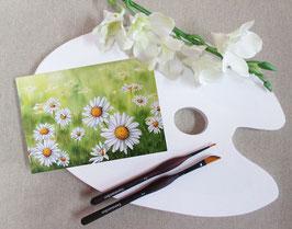 """Postkarte """"Margeriten-Wiese"""""""