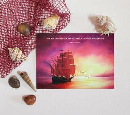 """Postkarte """"Morgenröte"""""""