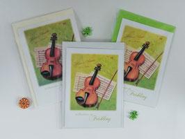 "Karten-Set ""Vivaldi - Willkommen im Frühling"""