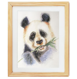 "Aquarell ""Panda"""