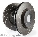 Turbo Groove Disc Black 259x10mm  (hinten) GD1490