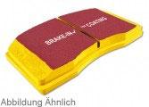 EBC YellowStuff Bremsbeläge (hinten) MINI R55 Clubman inkl. JCW